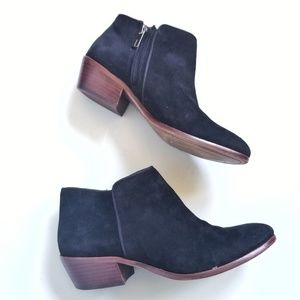 Sam Edelman [8.5] Petty Black Suede Ankle Boots